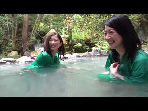 美女3人と行く鹿児島の混浴露天風呂!龍馬ゆかりの湯「緑渓湯苑」