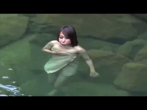 温泉美人vol 71 尻焼♨長笹沢川の露天風呂
