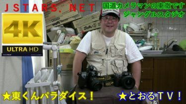 JSTARS.NET国道カメラマンの東徹です★とおるTV!★東くんパラダイス!NIKON D2XS,D300,1000円写真集出品中!